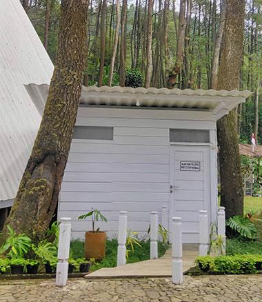cabin imah putih gunung puntang