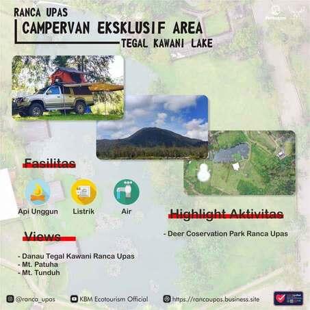 campervan area Ranca upas