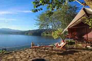 lakeside tent resort